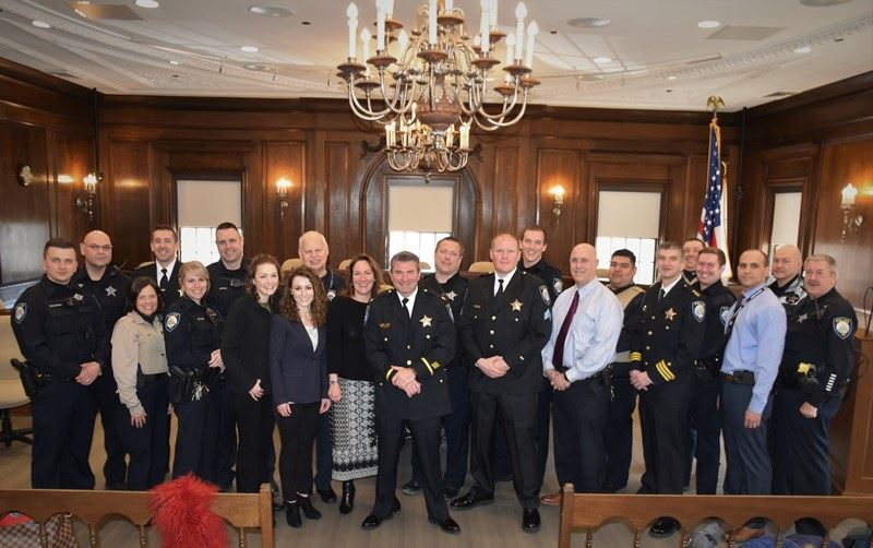 Police Department Promotion Ceremony
